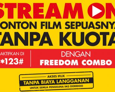 Indosat Hadirkan StreamON Layanan Streaming Non Kouta