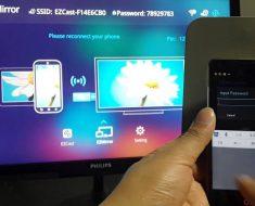 Menghubungkan Android dengan miracast
