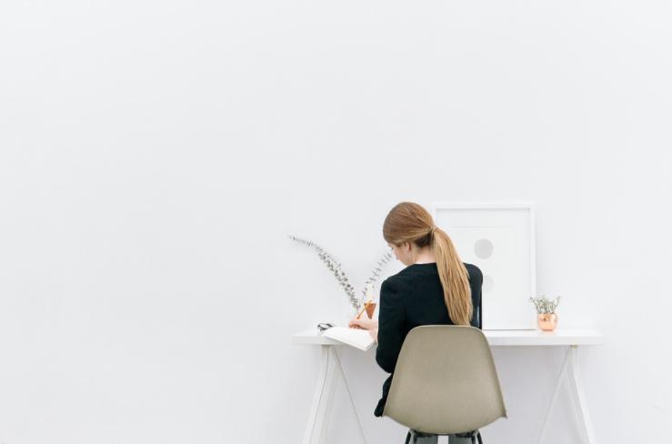 Meja kerja Direktur Kayu Jati Berkualitas