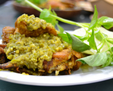 Resep masakan dari ayam sambal ijo - Royco