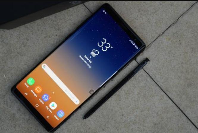 Samsung Galaxy Note 9 smartphone terbaik 2018