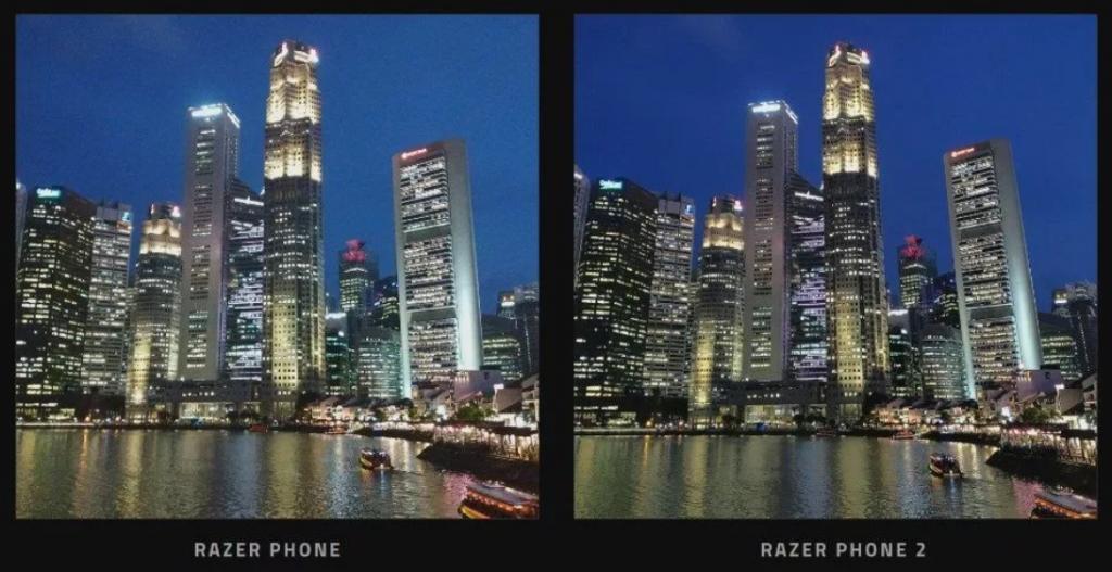 Tampilan Mempesona razer phone 2