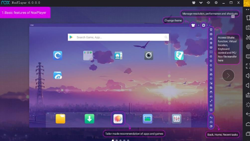 4 Pilihan Perangkat Lunak Emulator Android Paling Ringan dan Cepat Nox App Player