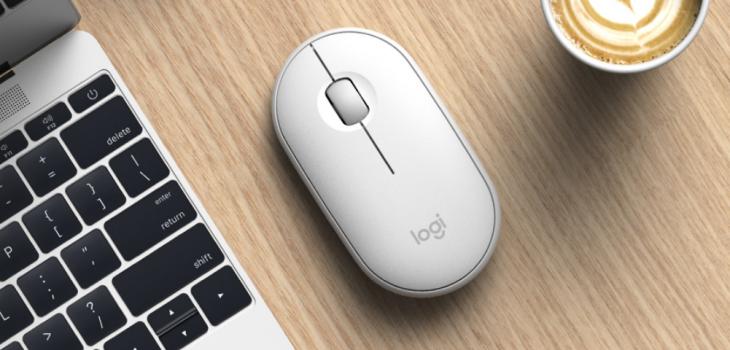 Logitech Pebble Mouse 350, Teknologi Mouse Kekinian yang Menarik dan Tidak Berisik