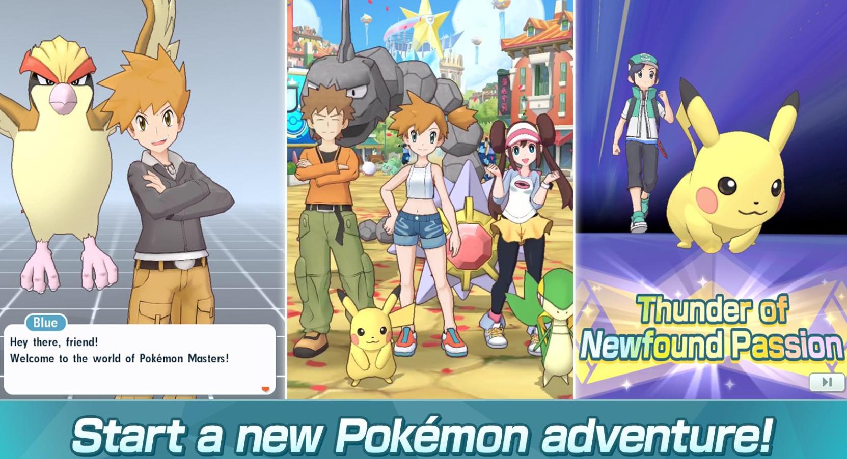 Game Pokemon Masters Siap Meluncur Pada Perangkat Android dan iOS