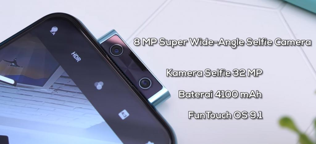 Fitur Kamera Terbaru dan Spek Canggih V17 Pro