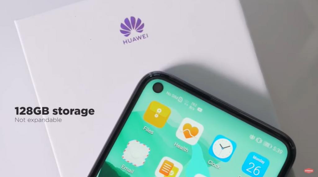Huawei Nova 5T memory