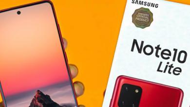 Bocoran Spesifikasi Samsung Galaxy Note 10 Lite