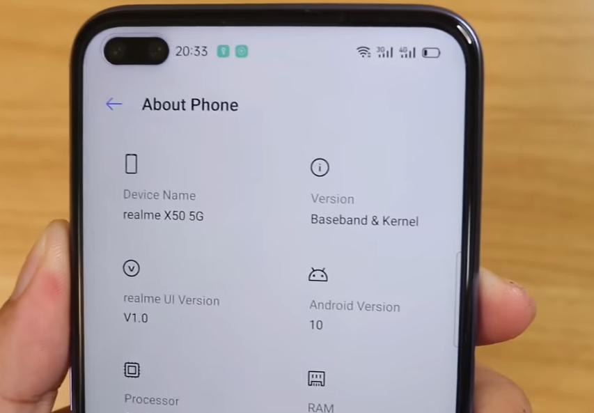 Sudah Rilis di China, Ini Banderol Harga untuk about phone Realme X50 5G