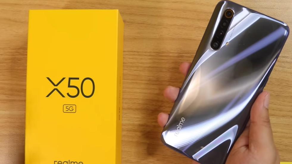 Sudah Rilis di China, Ini Banderol Harga untuk desain phone Realme X50 5G
