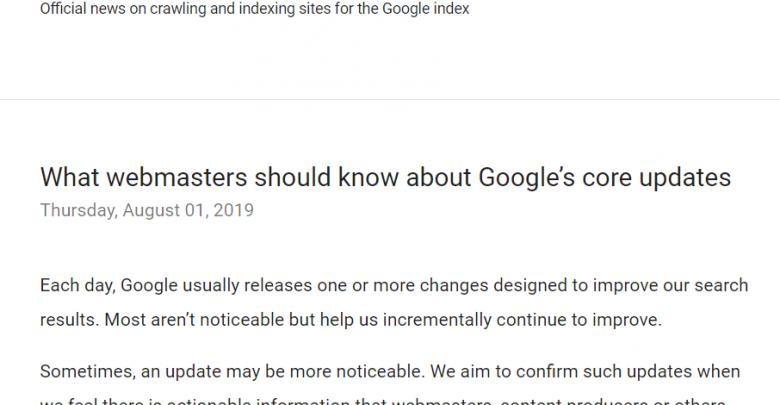 [Google Update May 2020] Core Algoritma Google