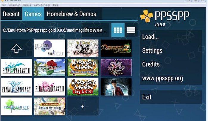 Cara download PPSSPP melalui PC
